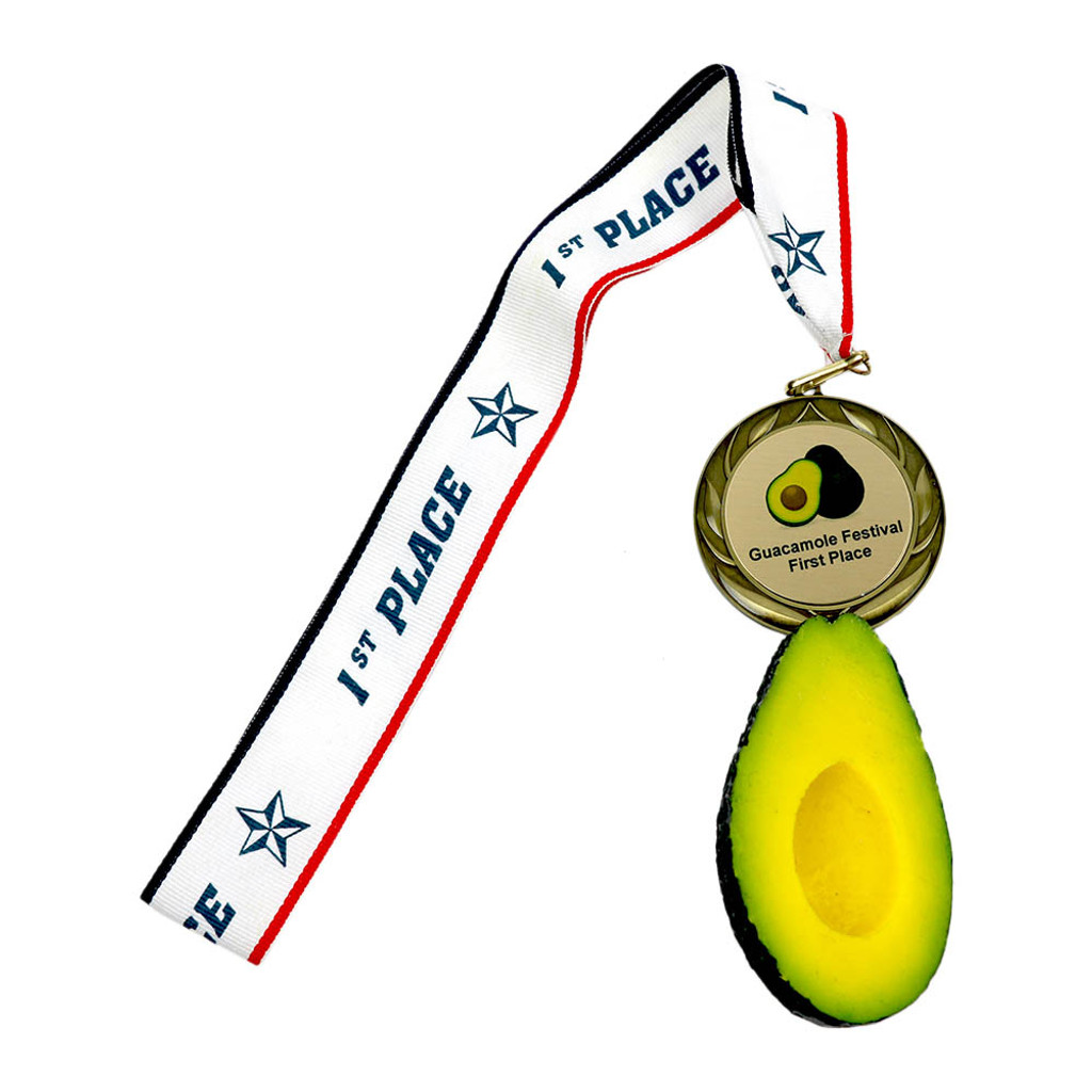 Avocado Medal with Personalized Engraving