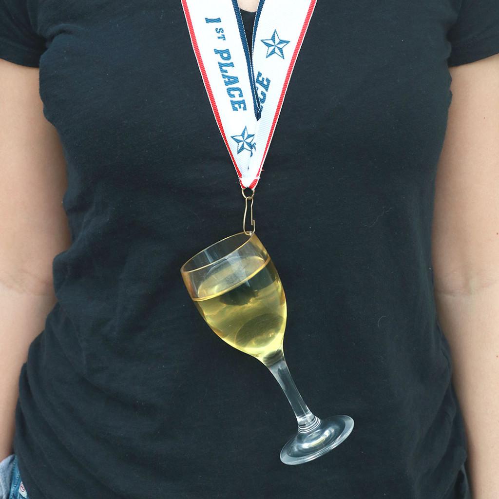 Wearing White Wine Medal