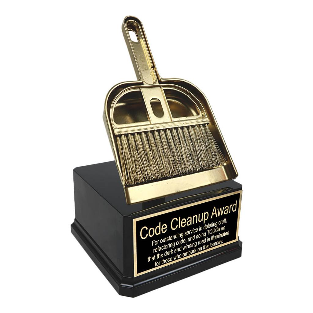 Golden Dustpan Trophy