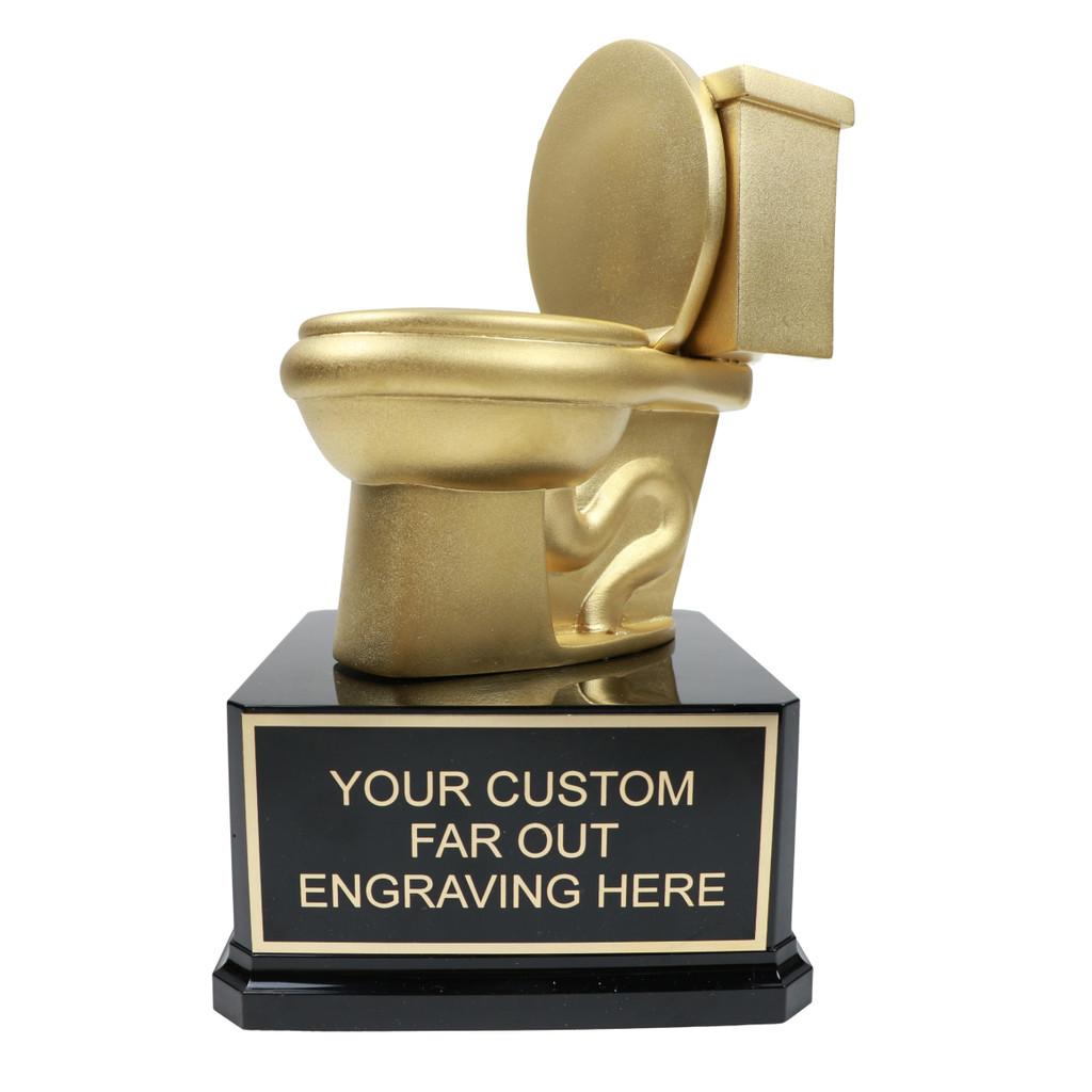 Deluxe Golden Toilet