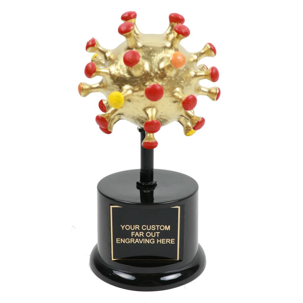 Gold Covid Virus Award