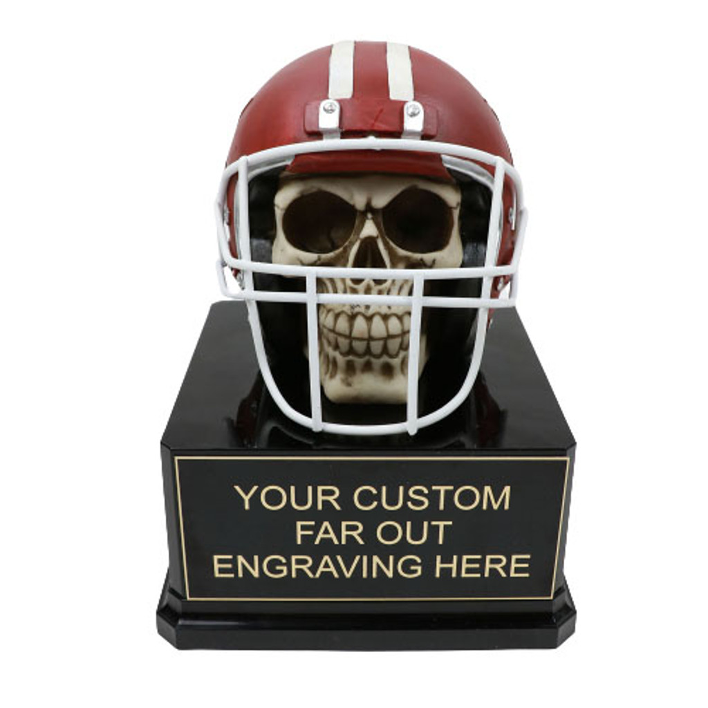 Skull Football Trophy