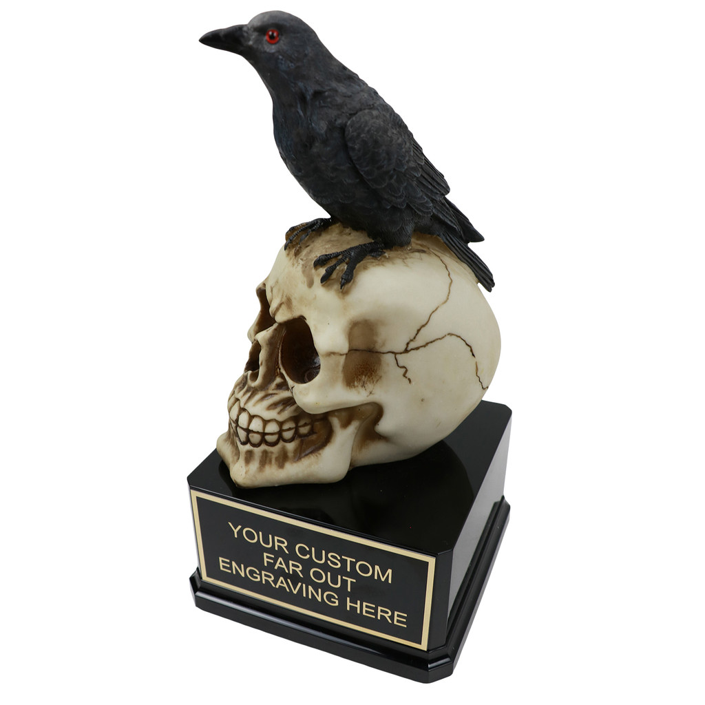 Raven on Skull Award
