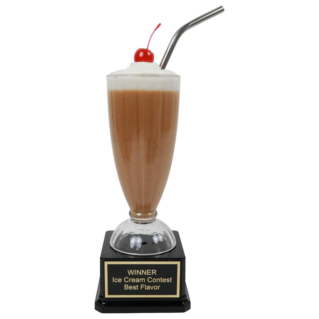 Chocolate Milkshake Trophy