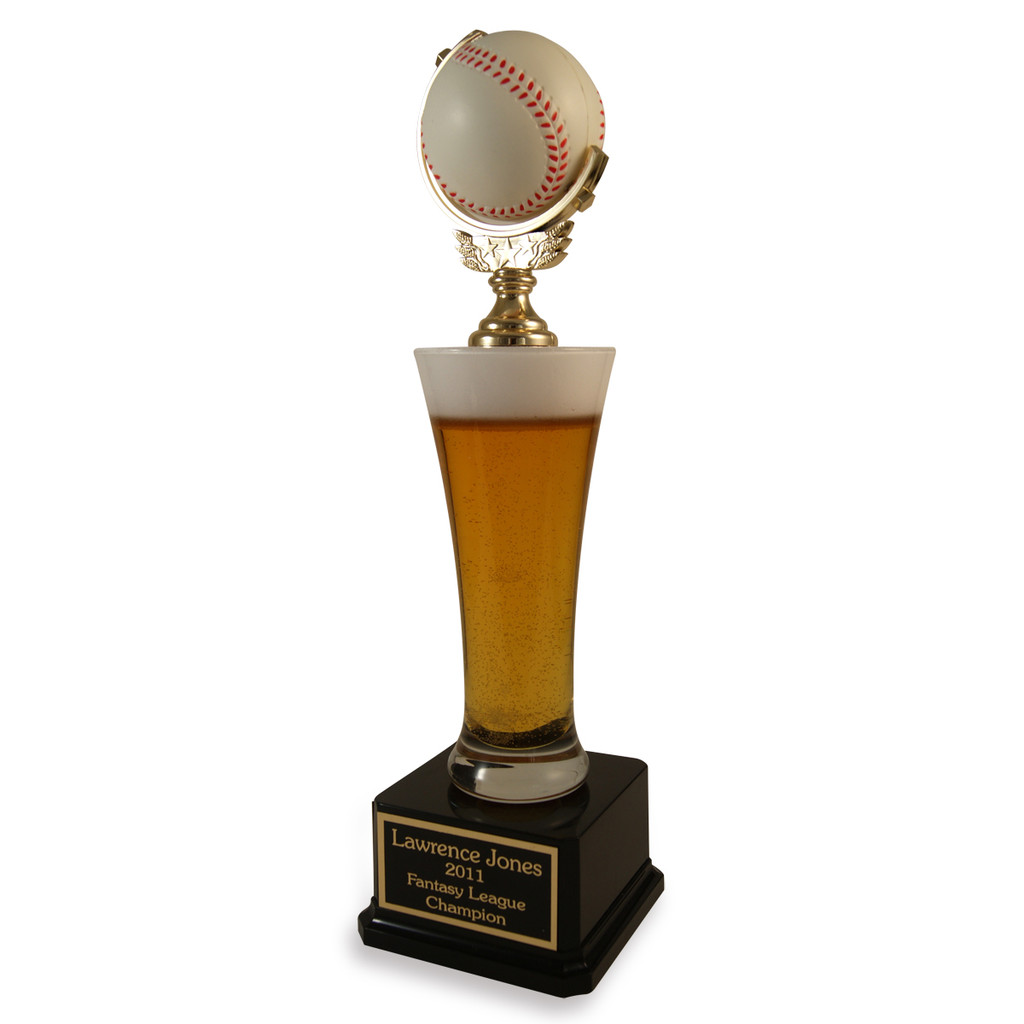 Beer Pilsner Baseball Trophy