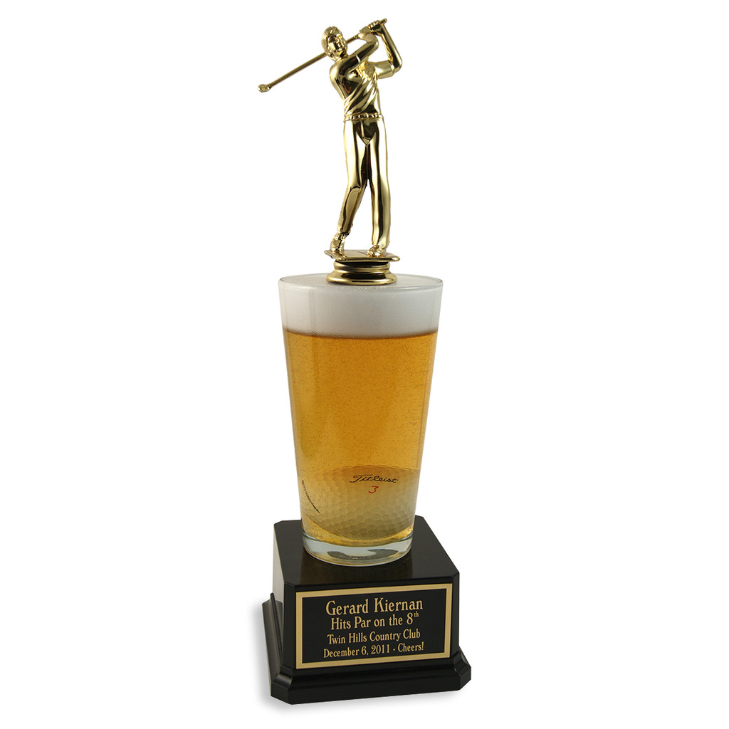Male Golf Pint Trophy