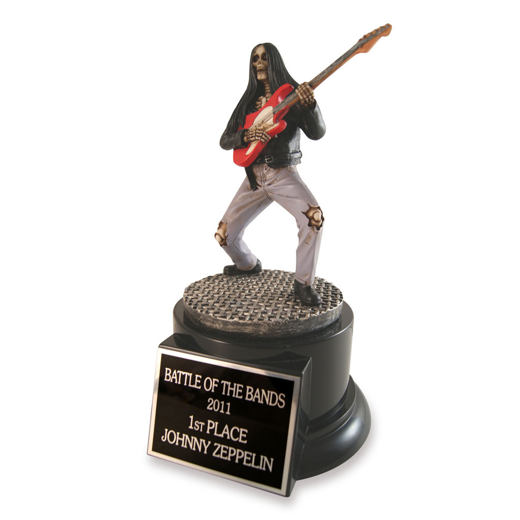 Rockin' Guitar Trophy