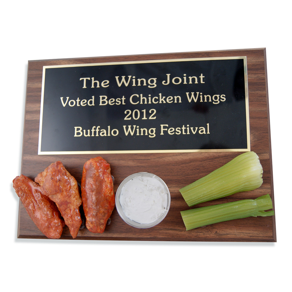 Chicken Wing Plaque