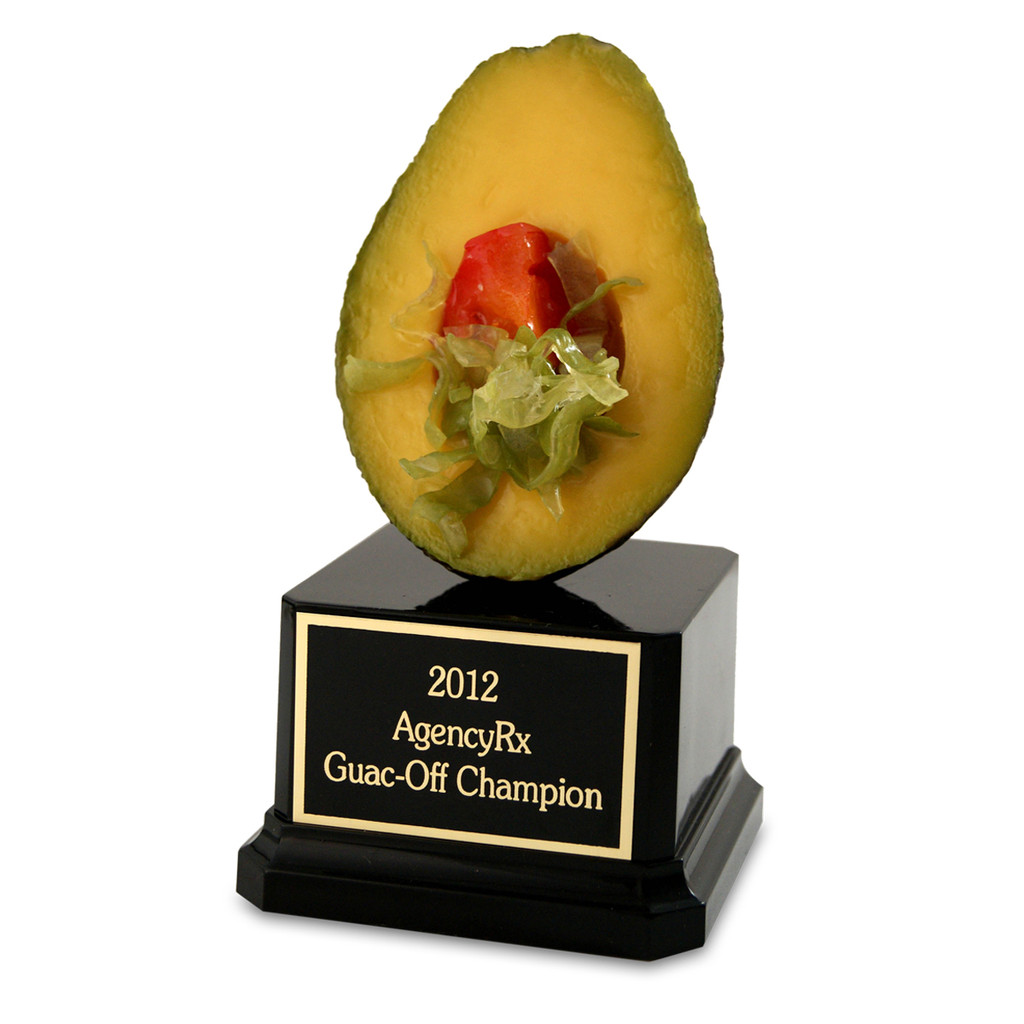 Deluxe Avocado Trophy