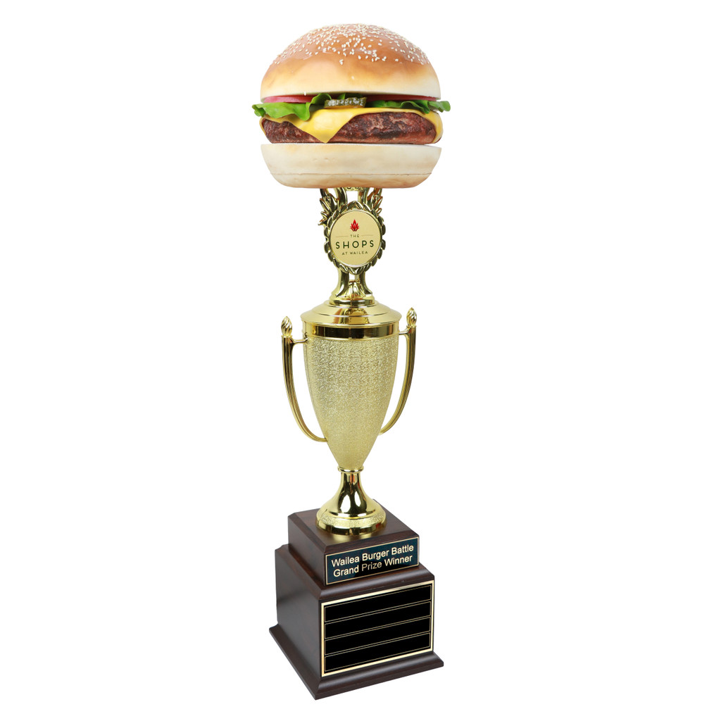 Perpetual Far Out Burger Trophy Cup