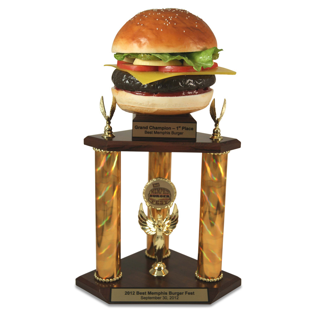 Super Far Out Burger Trophy
