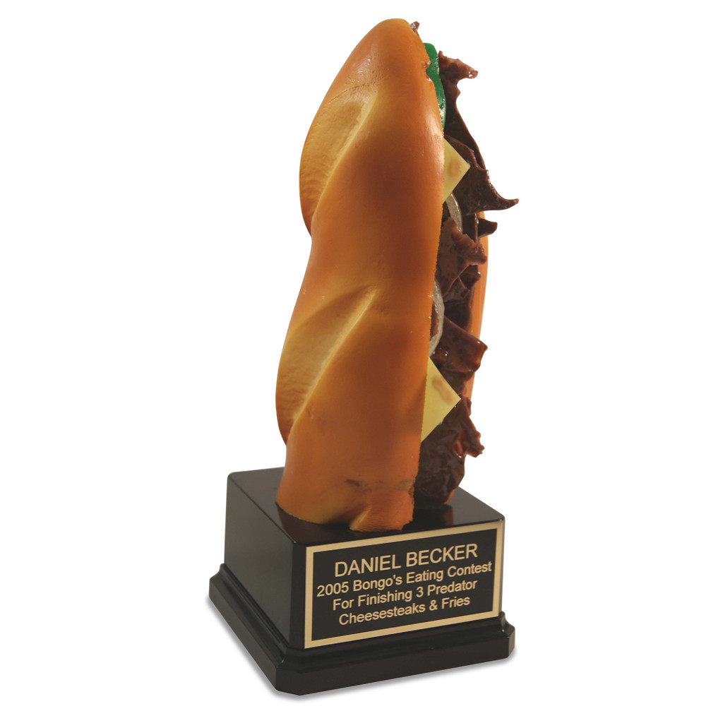 Philly Cheesesteak Sandwich Trophy