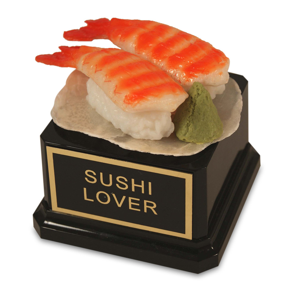 Deluxe Shrimp Sushi Trophy
