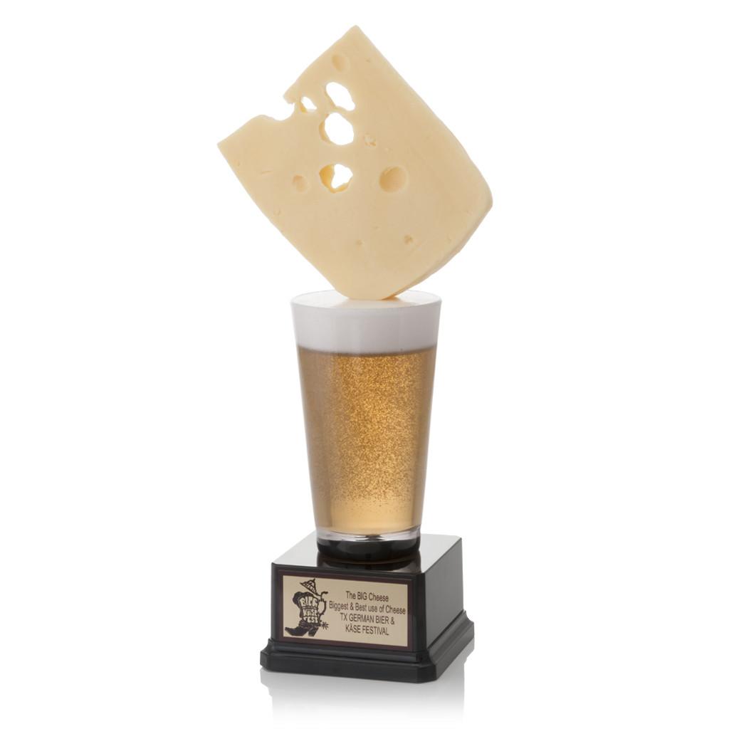 Swiss Cheese Beer Trophy