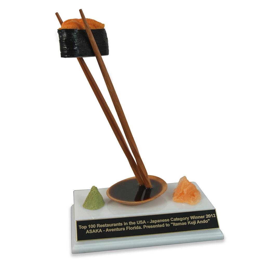 Sea Urchin Sushi Trophy