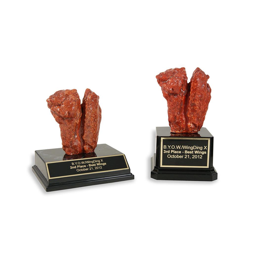 Medium Chicken Wing Trophy