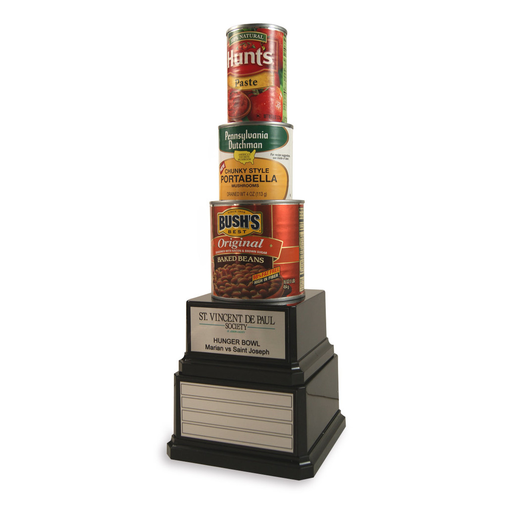 Perpetual Canned Food Drive Trophy