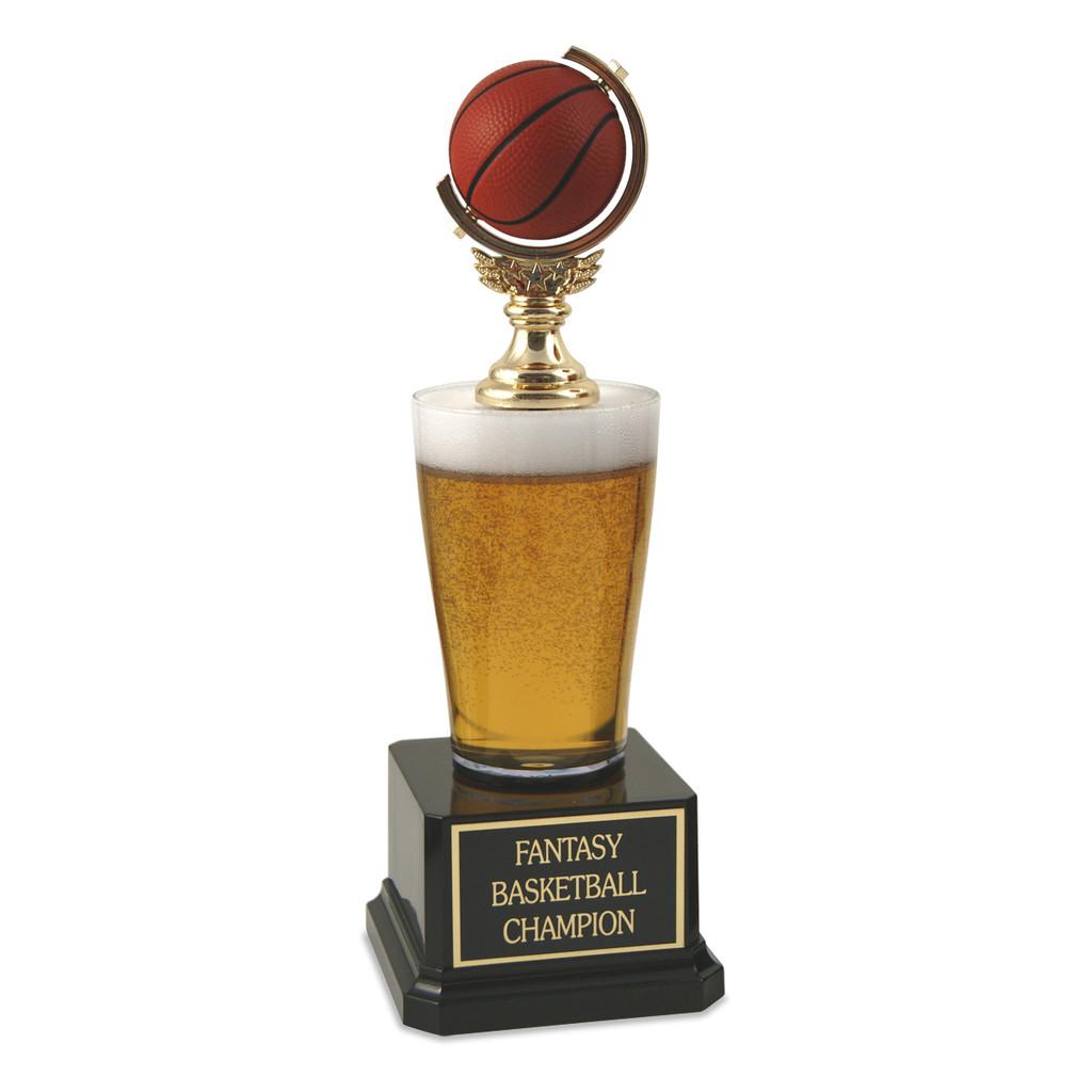 Jr. Beer Pilsner Basketball Trophy