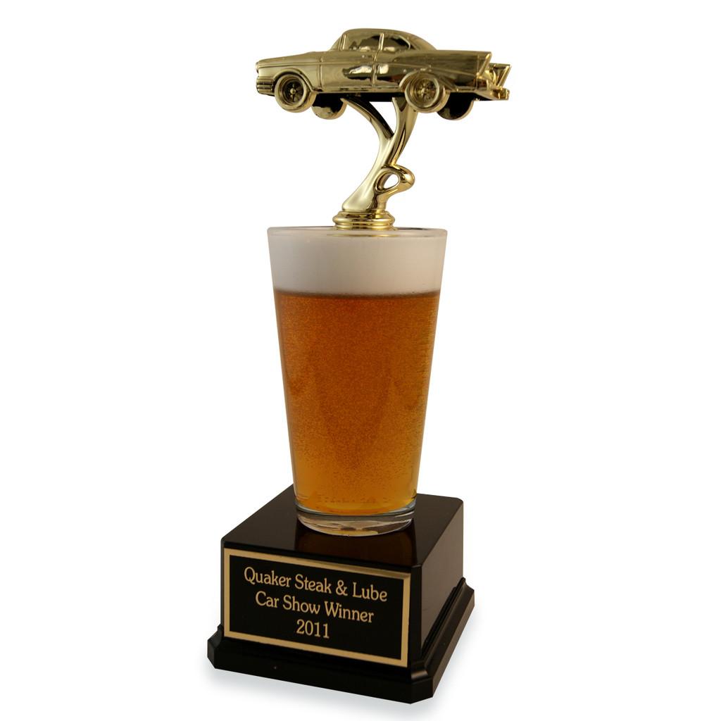Car Beer Trophy
