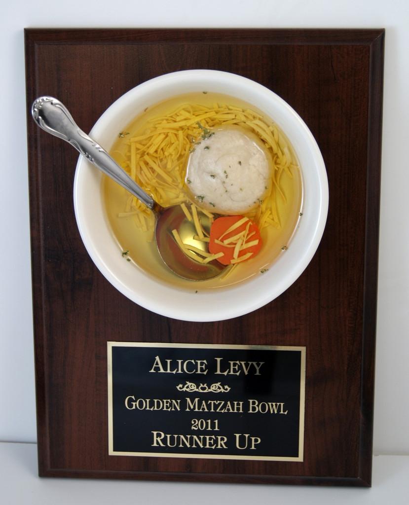 Matzo Ball Soup Plaque