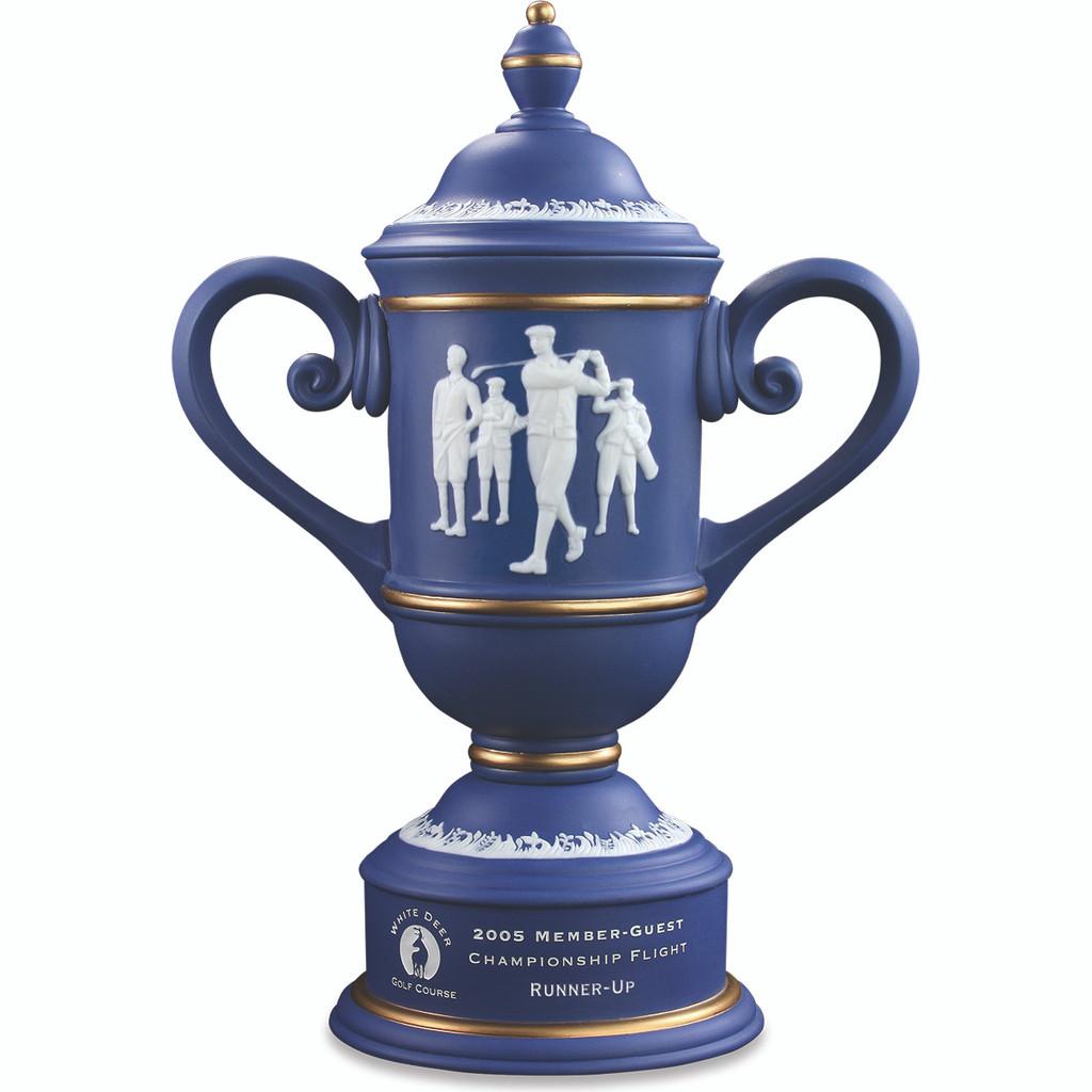 Calcutta Cup in Blue & Gold