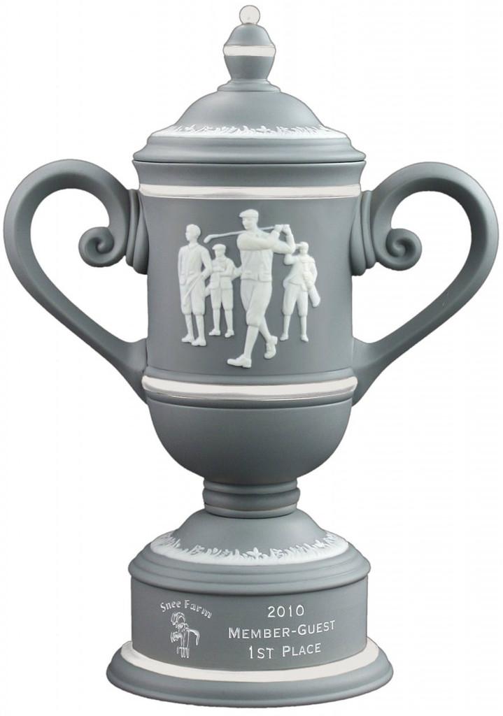 Calcutta Cup in Grey & Ivory