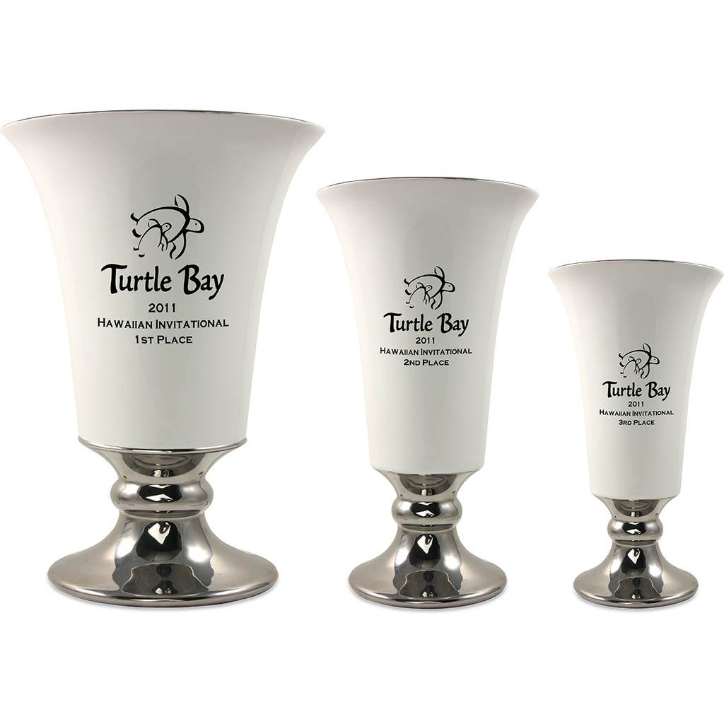Eagle Cup in White & Silver