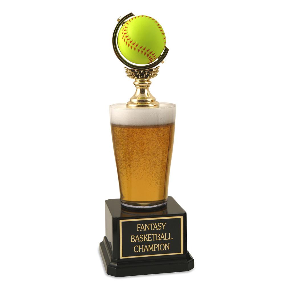 Jr. Beer Pilsner Softball Trophy
