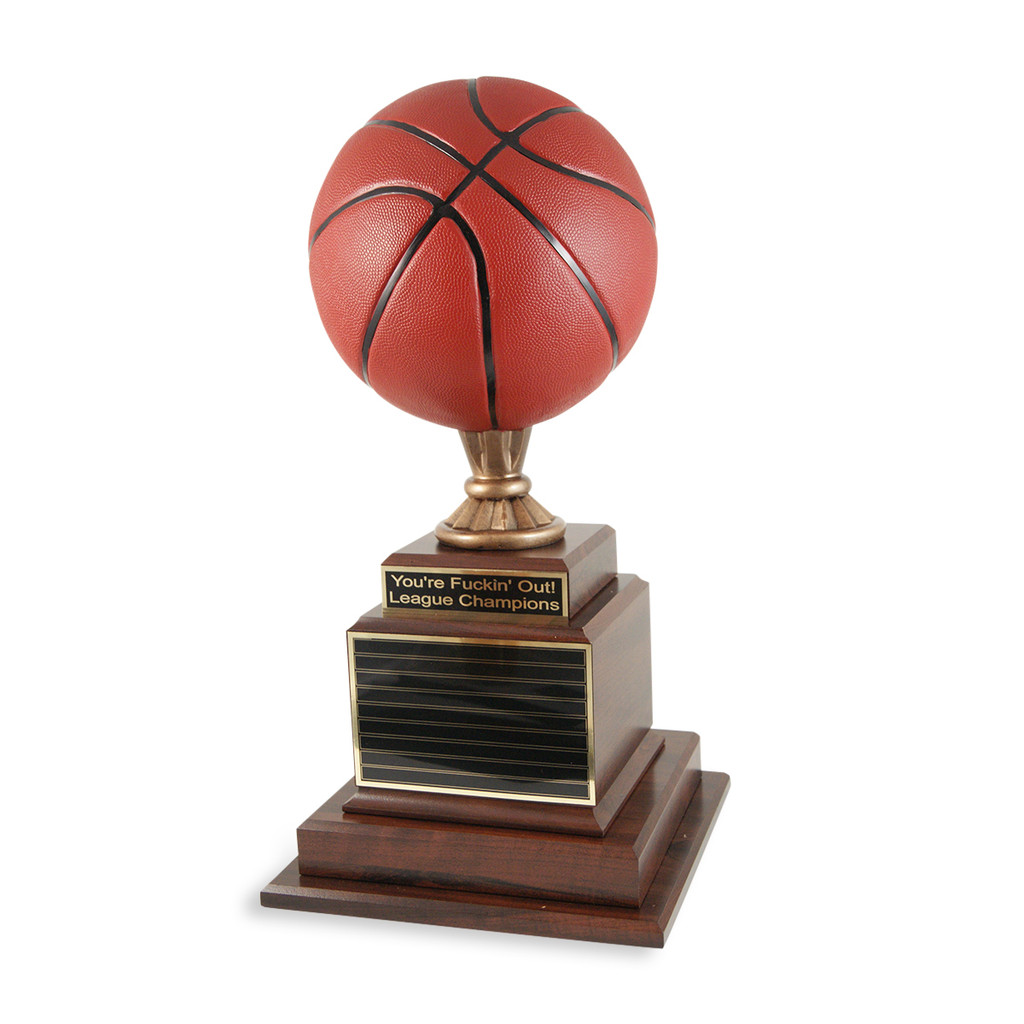 Hall of Fame Basketball Trophy