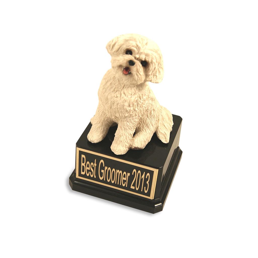 Bichon Dog Trophy