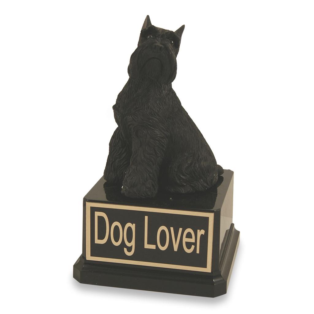 Schnauzer Dog Trophy