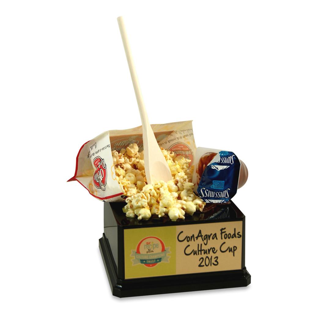 Spilled Popcorn/Pudding Trophy