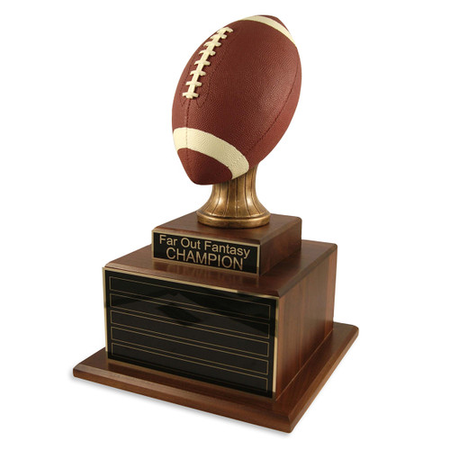 Perpetual Deluxe Football Trophy