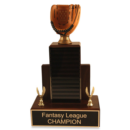 Small MVP Baseball Glove Trophy