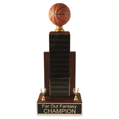Large MVP Basketball Trophy