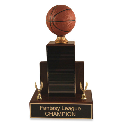 Small MVP Basketball Trophy