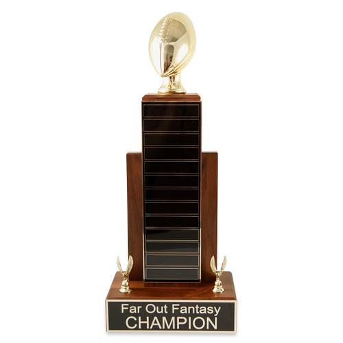 Large MVP Gold Football Trophy