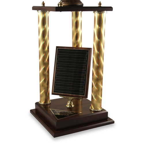 Antique Football Victory Trophy