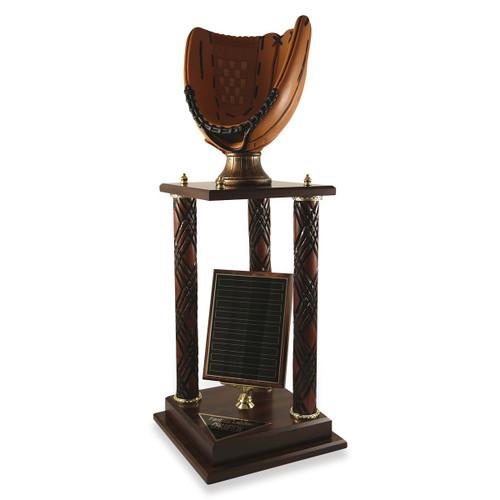 Baseball Glove Victory Trophy