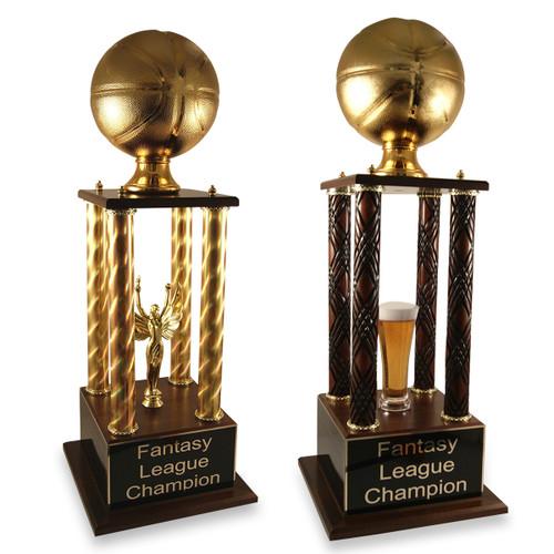 Golden Basketball Prestige Fantasy Trophy