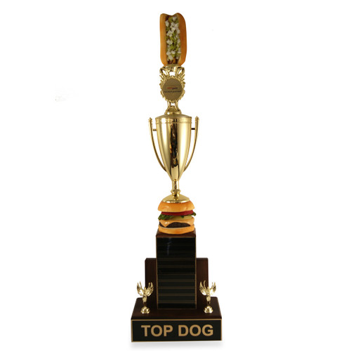 Top Dog Burger Trophy Cup