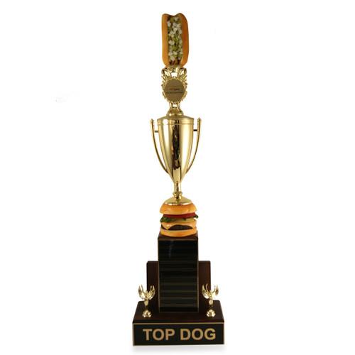 Top Dog Burger Trophy Cup