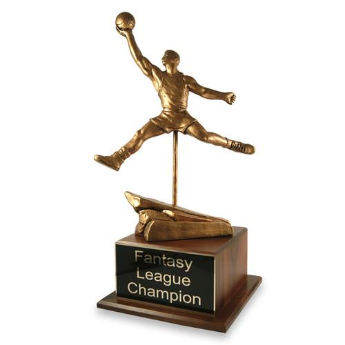 Finger Roll Basketball Trophy