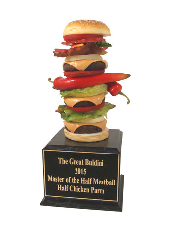 Crazy Burger Trophy
