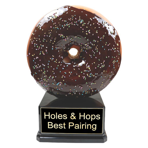 Far Out Giant Donut Trophy