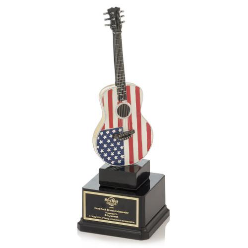 American Flag Guitar Award