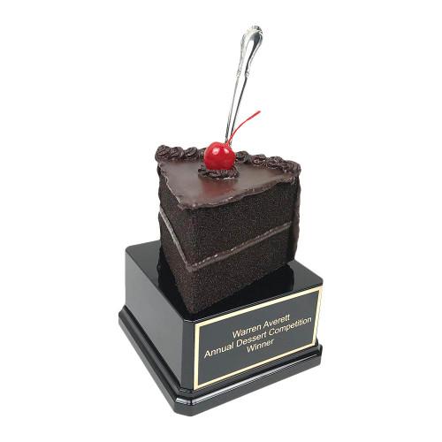 Chocolate Cake Slice Trophy