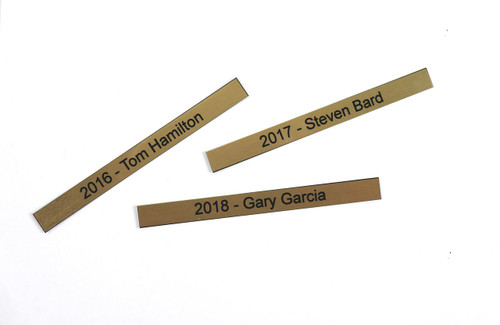 Extra Name Plates