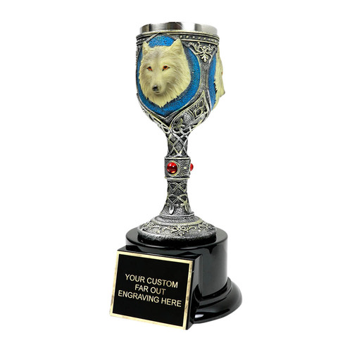 Wolf Chalice Cup Award