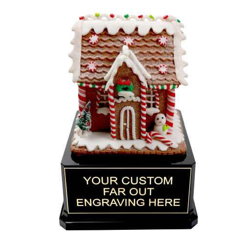 Gingerbread House Trophy